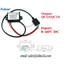 12V/24v/48v/60v to 5V 3A 15W step down converter charger USB port QC3.