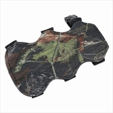 OUTDOOR HUNTING ARROW SHOOTING BOW THREE STRAPS ARM GUARD (CAMOUFLAGE)