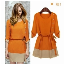ELEGANT DRESS AS PICTURE (SIZE M)