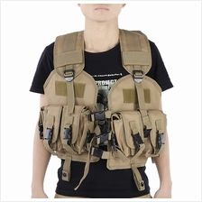 OUTDOOR MILITARY TRAINING ARMY WAISTCOAT PROTECTIVE (SOIL)