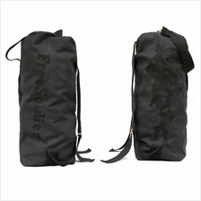 OUTDOOR 33L TACTICAL CLIMBING BACKPACK BARREL BAG (BLACK)