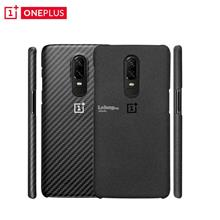 OnePlus 6 / 1+6 - Official Sandstone Karbon Genuine Protective Case