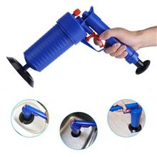 Home Toilet Floor Drain Canalisation Air Power Plunger Blaster Pump