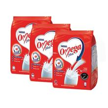 NestleᅠOmegaᅠPlus Milk Powder Softpack 1kg (Bundle of 3))