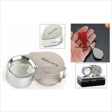New Glass Magnifying Magnifier Jeweler Eye, Jewelry Loupe Reading Loop
