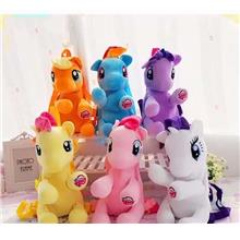 38cm Cute 3D My Little Pony Backpack For Kids School Bag Child Plush