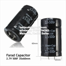 2.7V 500F Farad Capacitor 35*60MM Super Capacitor