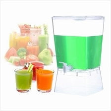 3 Compartment Colourful Juice Drink Dispenser Water Camping Party BBQ