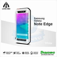 LOVE MEI Powerful Protective Case for Samsung Galaxy Note Edge (White)