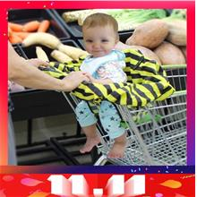 Baby High chair Seat Cover/Shopping Cart Seat Cover/ Market Trolley