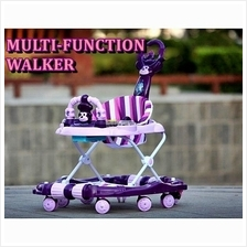 MULTIFUNCTIONAL BABY WALKER WITH LIGHTS & MUSIC