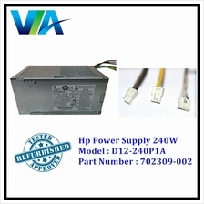 HP ProDesk 800 600 400 G1 240W Power Supply Model D12-240P1A