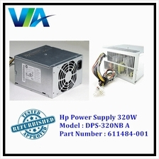 HP 8000 8100 8200 8300 ELITE Tower 320W Power Supply Model DPS-320NB A