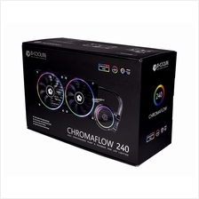 # ID-Cooling CHROMAFLOW 240 AIO RGB CPU Liquid Cooler #