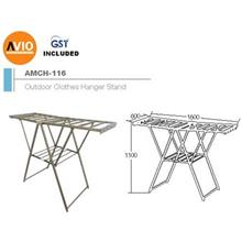 AIMER MALAYSIA AMCH-116 ALUMINIUM OUTDOOR CLOTHES HANGER STANDER STAND