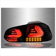 VOLKSWAGEN GOLF MK6 2008 - 2014 Full Smoke LED Light Bar Tail Lamp