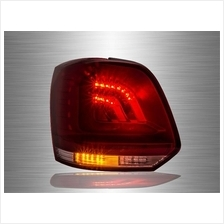 VOLKSWAGEN POLO MK5 2009 - 2017 Red Clear LED Tail Lamp