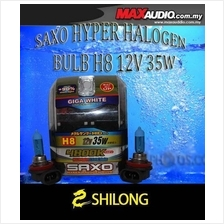 SAXO 4800K H8 Yellowish White Halogen Bulb Made in Korea *JPJ Approve*