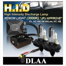 DLAA Anti-Glare 3000K Super Yellow All Cars HID Kit *JPJ APPROVE*
