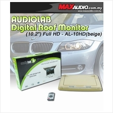 AUDIOLAB AL-10HD 10.2' Full HD Semi Motorized Beige Roof Monitor