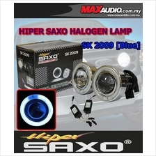 SAXO 3' Blue CCFL Glass Project Fog Lamp with Ballast Made in Korea