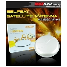 SELFSAT Portable Satellite Antenna for ASTRO Only RM50 [MAM03D Silver]