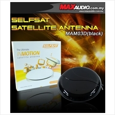 SELFSAT Portable Satellite Antenna for ASTRO Only RM50 [MAM03D Black]
