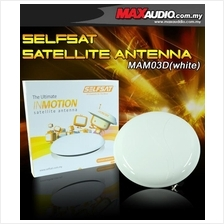 SELFSAT Portable Satellite Antenna for ASTRO Only RM50 [MAM03D Whtie]