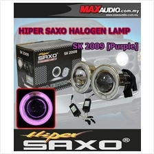 SAXO 3' Purple CCFL Glass Project Fog Lamp with Ballast Made in Korea