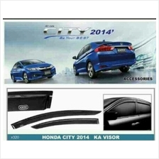 NEW HONDA CITY 2014 Injection Anti UV Light Door Visor (AL)