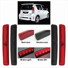 PERODUA MYVI SE1 Rear Bumper Reflector LED Brake Light (Red/ Smoke)