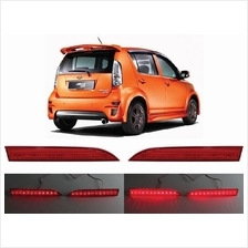 PERODUA MYVI SE2 2008 - 2010 Rear Bumper LED Brake Light (Red)