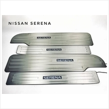 NISSAN SERENA C26 2010-15 LED Car Door Side Sill Step Plate (Blue LED)