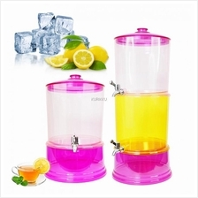 Multilayer 2 Compartment Dispenser Drinking Water Camping 2x8L