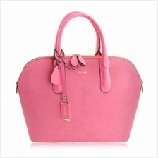 OFFICE SPLICE AND RIVETS DESIGN WOMEN''S TOTE BAG (PINK)
