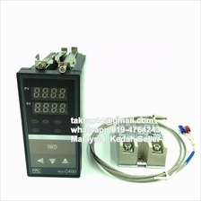 230V Digital PID Controller REX-C400 Temperature SSR K Thermocouple