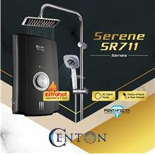 CENTON Instant Shower Water Heater - Serene Series + Rain Shower