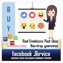 Real Facebook Emoticons Reaction (1k Abv)