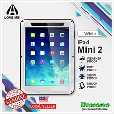 LOVE MEI Powerful Protective Case for iPad Mini 2 (White)