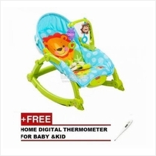 BABY THRONE Premium New Born/ Toddler Rocker (Free Digital Thermometer