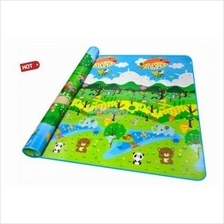 Double Sided Printed Toddler Crawling Mat With Educational