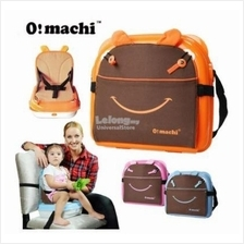 OMachi 2 in 1 Portable Baby Booster Seat and Mummy Carrying Storage