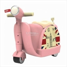 2 in 1 Motorbike Design Ride On Kid Luggage