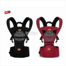 4 in 1 Multifunctional Baby Carrier- Black (Free Thermometer)