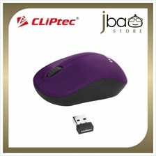 CLiPtec SPARKLE 1200dpi 2.4GHz Wireless Optical Mouse RZS853 (Purple)
