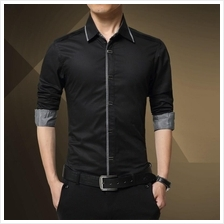 MS0004 Korea Fashion Business Slim-Fit Shirt
