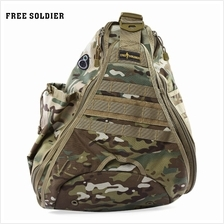 OUTDOOR NYLON BAG CAMPING HIKING MOUNTAIN-CLIMBING BACKPACK (CP CAMOUF