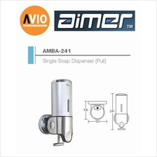 AIMER MALAYSIA AMBA-241 ABS SINGLE SHAMPOO AND SOAP DISPENSER (PULL)
