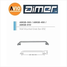 AIMER MALAYSIA AMGB-450 STAINLESS 304 WALL MOUNTED GRAB BAR Ø32