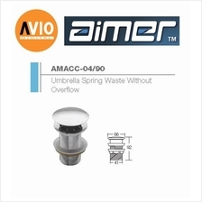 AIMER MALAYSIA AMACC-04/90 BRASS CHROMED UMBRELLA SPRING WASTE